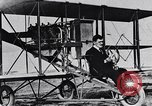 Image of U.S. Aviator, Lincoln Beachey in a Curtiss Pusher Biplane San Diego California USA, 1913, second 15 stock footage video 65675041062