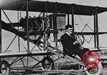 Image of U.S. Aviator, Lincoln Beachey in a Curtiss Pusher Biplane San Diego California USA, 1913, second 17 stock footage video 65675041062