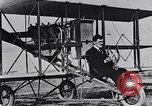 Image of U.S. Aviator, Lincoln Beachey in a Curtiss Pusher Biplane San Diego California USA, 1913, second 18 stock footage video 65675041062