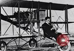 Image of U.S. Aviator, Lincoln Beachey in a Curtiss Pusher Biplane San Diego California USA, 1913, second 20 stock footage video 65675041062
