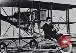 Image of U.S. Aviator, Lincoln Beachey in a Curtiss Pusher Biplane San Diego California USA, 1913, second 22 stock footage video 65675041062