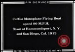 Image of Curtiss Flying Boat United States USA, 1930, second 3 stock footage video 65675041063