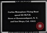 Image of Curtiss Flying Boat United States USA, 1930, second 6 stock footage video 65675041063