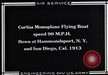Image of Curtiss Flying Boat United States USA, 1930, second 7 stock footage video 65675041063