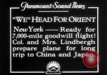 Image of Charles Lindbergh New York United States USA, 1927, second 3 stock footage video 65675041070