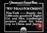 Image of Charles Lindbergh New York United States USA, 1927, second 5 stock footage video 65675041070
