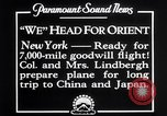 Image of Charles Lindbergh New York United States USA, 1927, second 6 stock footage video 65675041070
