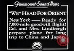 Image of Charles Lindbergh New York United States USA, 1927, second 7 stock footage video 65675041070