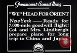 Image of Charles Lindbergh New York United States USA, 1927, second 8 stock footage video 65675041070
