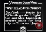 Image of Charles Lindbergh New York United States USA, 1927, second 9 stock footage video 65675041070