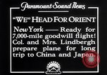 Image of Charles Lindbergh New York United States USA, 1927, second 11 stock footage video 65675041070