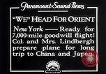 Image of Charles Lindbergh New York United States USA, 1927, second 12 stock footage video 65675041070