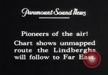 Image of Charles Lindbergh New York United States USA, 1927, second 57 stock footage video 65675041070