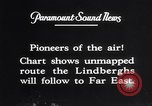 Image of Charles Lindbergh New York United States USA, 1927, second 58 stock footage video 65675041070