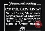 Image of Charles Lindbergh North Haven Maine USA, 1927, second 3 stock footage video 65675041071