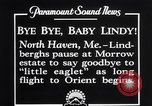 Image of Charles Lindbergh North Haven Maine USA, 1927, second 4 stock footage video 65675041071