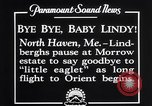 Image of Charles Lindbergh North Haven Maine USA, 1927, second 6 stock footage video 65675041071