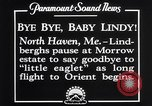 Image of Charles Lindbergh North Haven Maine USA, 1927, second 12 stock footage video 65675041071