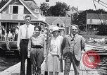 Image of Charles Lindbergh North Haven Maine USA, 1927, second 28 stock footage video 65675041071