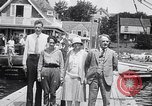 Image of Charles Lindbergh North Haven Maine USA, 1927, second 31 stock footage video 65675041071