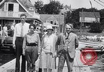 Image of Charles Lindbergh North Haven Maine USA, 1927, second 32 stock footage video 65675041071