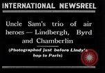 Image of Charles Lindbergh New York City USA, 1927, second 1 stock footage video 65675041077