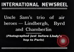 Image of Charles Lindbergh New York City USA, 1927, second 3 stock footage video 65675041077