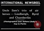 Image of Charles Lindbergh New York City USA, 1927, second 9 stock footage video 65675041077