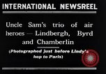 Image of Charles Lindbergh New York City USA, 1927, second 10 stock footage video 65675041077