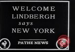 Image of Charles Lindbergh New York City USA, 1927, second 24 stock footage video 65675041077