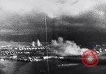 Image of Japanese attacking Ford Island Pearl Harbor Hawaii USA, 1941, second 34 stock footage video 65675041079