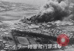 Image of Japanese attacking Ford Island Pearl Harbor Hawaii USA, 1941, second 37 stock footage video 65675041079