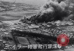 Image of Japanese attacking Ford Island Pearl Harbor Hawaii USA, 1941, second 39 stock footage video 65675041079