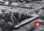 Image of Japanese attacking Ford Island Pearl Harbor Hawaii USA, 1941, second 45 stock footage video 65675041079