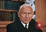 Image of Admiral Connolly United States USA, 1972, second 27 stock footage video 65675041093