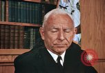 Image of Admiral Connolly United States USA, 1972, second 30 stock footage video 65675041093