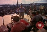 Image of Bob Hope and troupe entertain troops during Vietnam War Saigon Vietnam, 1966, second 28 stock footage video 65675041115