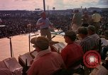 Image of Bob Hope and troupe entertain troops during Vietnam War Saigon Vietnam, 1966, second 30 stock footage video 65675041115