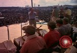 Image of Bob Hope and troupe entertain troops during Vietnam War Saigon Vietnam, 1966, second 31 stock footage video 65675041115
