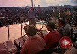 Image of Bob Hope and troupe entertain troops during Vietnam War Saigon Vietnam, 1966, second 32 stock footage video 65675041115