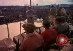 Image of Bob Hope and troupe entertain troops during Vietnam War Saigon Vietnam, 1966, second 34 stock footage video 65675041115