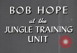 Image of Bob Hope Hawaii USA, 1944, second 23 stock footage video 65675041122