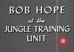 Image of Bob Hope Hawaii USA, 1944, second 24 stock footage video 65675041122