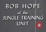 Image of Bob Hope Hawaii USA, 1944, second 25 stock footage video 65675041122