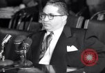 Image of Kefauver hearings New York United States USA, 1950, second 44 stock footage video 65675041140
