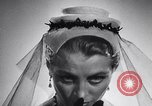 Image of French hats France, 1952, second 53 stock footage video 65675041157