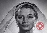 Image of French hats France, 1952, second 54 stock footage video 65675041157