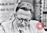 Image of Willey Ley New York United States USA, 1952, second 44 stock footage video 65675041161