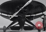 Image of Umbrella and Pusher planes United States USA, 1936, second 21 stock footage video 65675041172