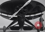 Image of Umbrella and Pusher planes United States USA, 1936, second 22 stock footage video 65675041172